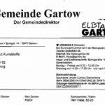 Gemeinde Gartow